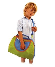 Trunki Tote Bag Green Blue