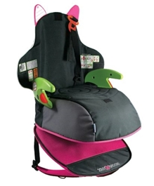 Pink 4 Years+, A compact car seat for your little ones