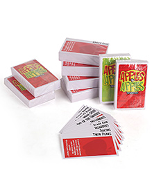 Mattel Apple To Apple Party In A Box Card Game - Red & White