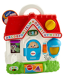 Fisher Price Laugh & Learn Puppy's Busy Activity Home - Multicolor