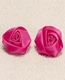 Babyhug Hair Pins Rose Design Pack 2 - Pink