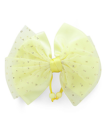Babyhug Bow Design Alligator Hair Pin - Yellow