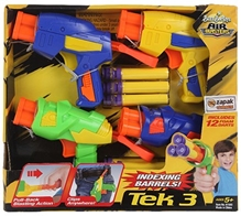 Buzzbee -  Tek 3 Air Blaster Pack of 4