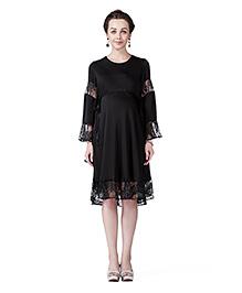 Innovative Pretty Lace Dress - Black