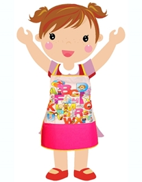 Swayam - Digitally Alphabets Printed Kids Apron