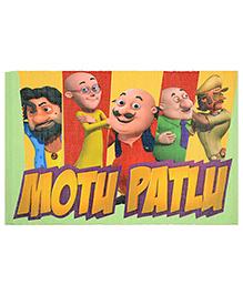 Saral Home Motu Patlu Theme Cotton Rug - Multi Color