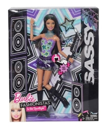 Barbie Fashionistas In the Spotlight Sassy Doll