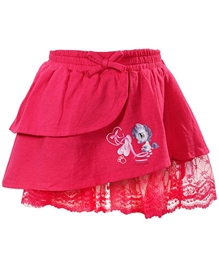 Little Pixies - Knee Length Tiered Skirt
