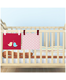 Kadam Baby 2 Bed Pockets Birdi Design - Pink