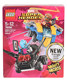 Lego Super Heroes Mighty Micros Star-Lord Vs Nebula - 86 Pieces