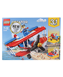 Lego Creator Daredevil Stunt Plane Building Blocks Set - 200 Pieces