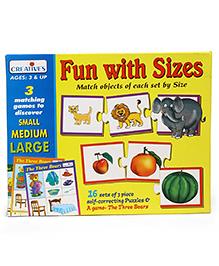 Creative Fun With Size Puzzle Game - Multi Color