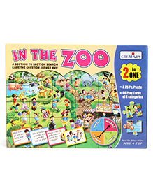 Creative In The Zoo 2 In 1 Game - Multi Color
