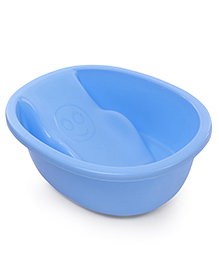 Solid Color Baby Bath Tub - Blue