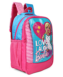 Barbie School Bag Blue Pink - 16 Inches