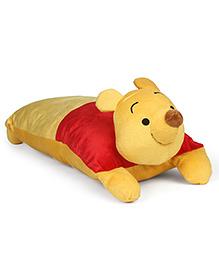 Disney Pooh Cushion Red Yellow - Length 50 Cm
