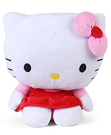 Hello Kitty Plush Toy Pink Red - Height 36 Cm