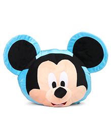 Disney Mickey Mouse Face Plush Toy Blue Black - 54 Cm