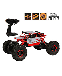 Planet Of Toys Rock Crawler Remote Control Car - Red