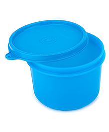 Signoraware Executive Round Big Plastic Container 450 Ml (Colors May Vary)