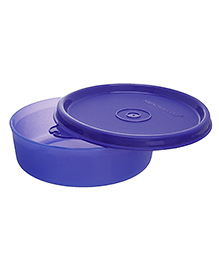 Signoraware Executive Medium Round Plastic Container 310 Ml (Colors May Vary)