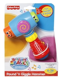 Fisher-Price - Brilliant Basics - Pound 'n Giggle Hammer