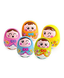 SmartCraft Roly Poly Tumbler Dolls - Multi Colour