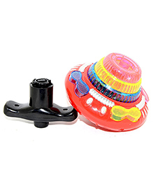 Vibgyor Vibes Light & Sound Spinning Top - Multicolour