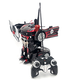 Flyers Bay Transforming Robot Car - Red Black