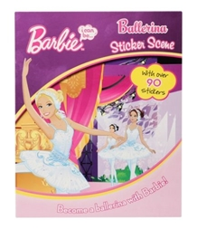 Barbie - Ballerina Sticker Scene Book