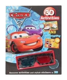 Disney Pixar Cars 3D Activity