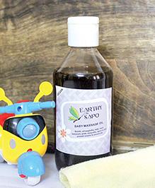 Earthy Sapo Baby Massage Oil - 200 Ml