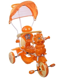 Playnation -Tricycle with Push Handle JRD 506 Orange