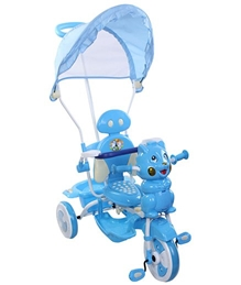 Playnation -Tricycle with Push Handle JRD 506 Blue