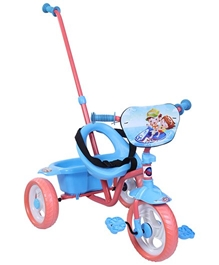 Playnation Tricycle with Parents Steering Handle - Blue