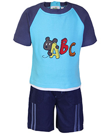 Babyhug Half Sleeves T-Shirt And Shorts Set