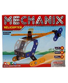 Zephyr Mechanix 2 Models Helicopter Starter Series Blue - 45 Pieces