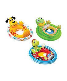 Intex Inflatable See Me Sit Pool Ride - Multicolour