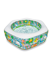 Intex Swimming Inflatable Pool - Multi Colour