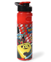 Disney Insulated Sipper Bottle Mickey Mouse Print Red Black - 750 Ml