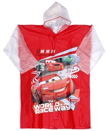 Disney - Car Print Baggy Rain Coat