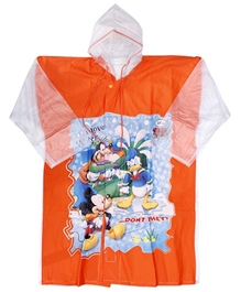 Disney - Donald And Goofy Print Rain Coat