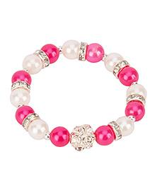 Daizy Pearl Bracelet - Pink