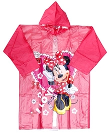 Disney - Disney Minnie Design Rain Coat