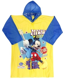 Disney - Mickey Rockstar Design Rain Coat