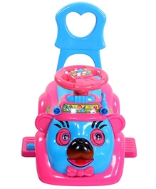 Toyzone Rechargeable Birdy Rider - Pink and Blue