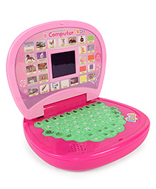Dr. Toy Learning Laptop With Multi Function - Pink