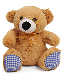 Liviya Sitting Teddy Bear Soft Toy Light  Brown - Height 33 Cm