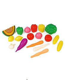 Circle E Vegetables Set Multi Color - 18 Pieces
