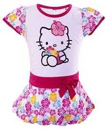 Hello Kitty - Baloon Style Floral Print Dress